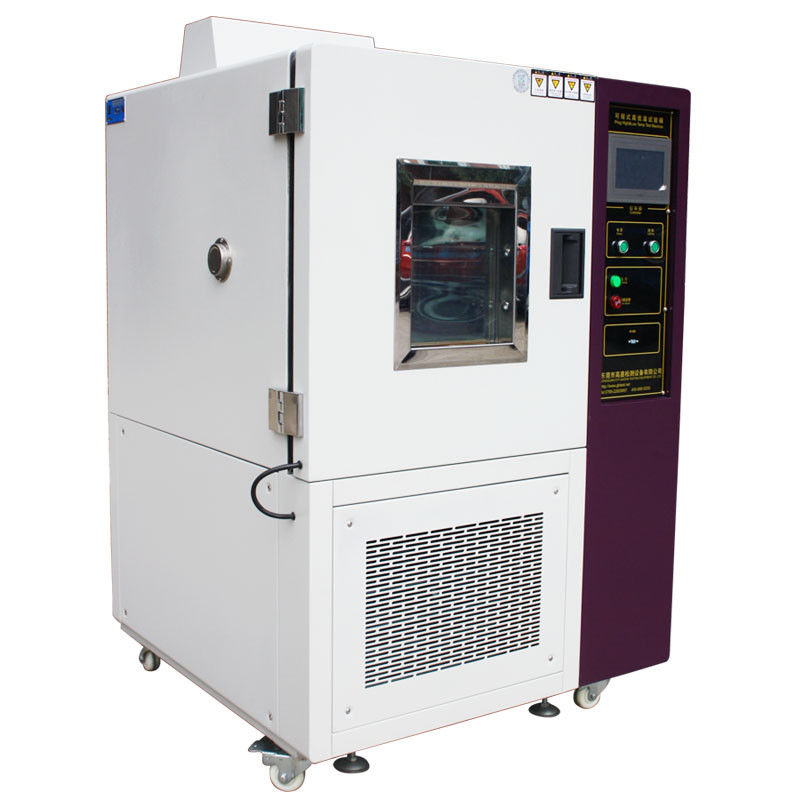 PLC Control Environmental Test Chamber High Low Temperature Rapid Heating Colding Impact Tester
