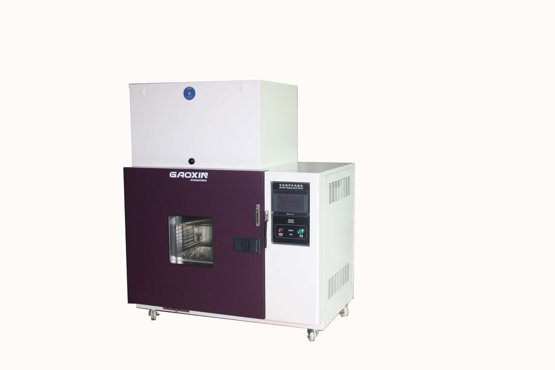 UL 2054 IEC 62133 RT + 10 ~ 200 ℃ Battery Thermal abuse Test Chamber Battery Testing Equipment