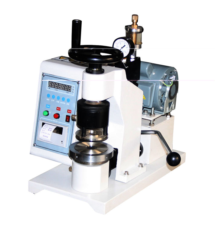 Manual Type Bursting Strength Tester Paper Testing Equipments , ISO / GB/T1539
